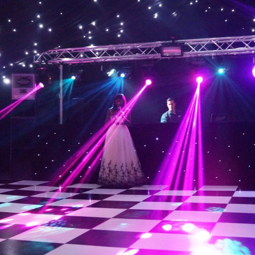 Marquee used for a winter marquee hire