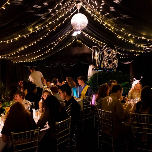 evening party marquee